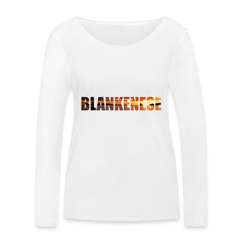 Blankenese Hamburg - Frauen Bio-Langarmshirt von Stanley & Stella