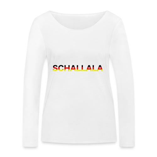 Schallala - Frauen Bio-Langarmshirt von Stanley & Stella