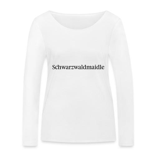 Schwarzwaldmaidle - T-Shirt - Frauen Bio-Langarmshirt von Stanley & Stella