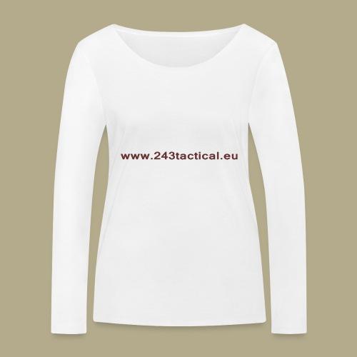 .243 Tactical Website - Vrouwen bio shirt met lange mouwen van Stanley & Stella