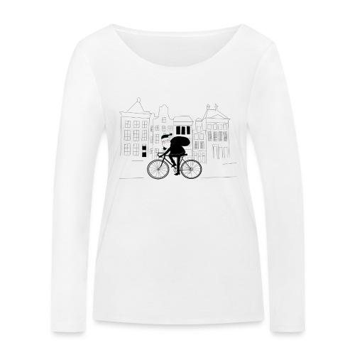 Santa is Coming - Women's Organic Longsleeve Shirt by Stanley & Stella