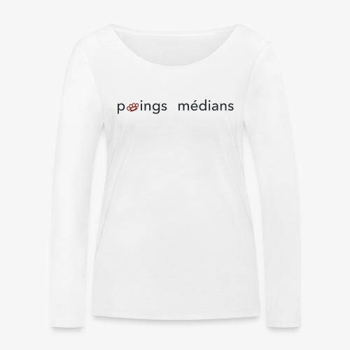 Poings médians - T-shirt manches longues bio Stanley & Stella Femme