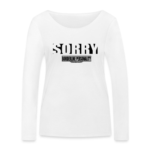 Borderline - T-shirt manches longues bio Stanley & Stella Femme