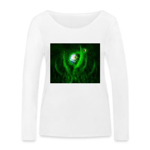 Cthulhu Rising - Frauen Bio-Langarmshirt von Stanley & Stella