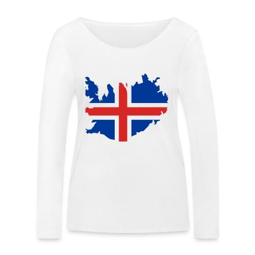 Iceland - Vrouwen bio shirt met lange mouwen van Stanley & Stella