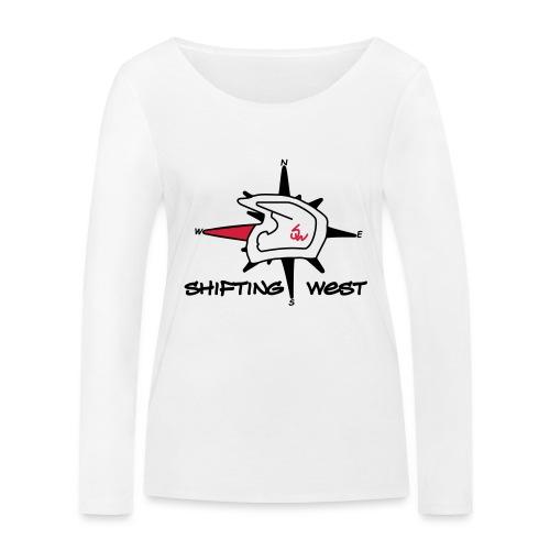 Shifting West Logo vector - Vrouwen bio shirt met lange mouwen van Stanley & Stella