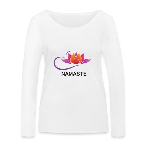 NAMASTE - Camiseta de manga larga ecológica mujer de Stanley & Stella