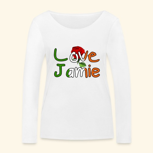 Jlove - Women's Organic Longsleeve Shirt by Stanley & Stella