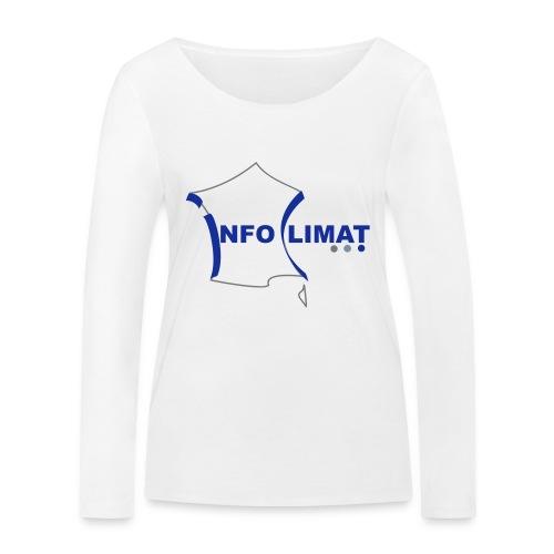 logo simplifié - T-shirt manches longues bio Stanley & Stella Femme