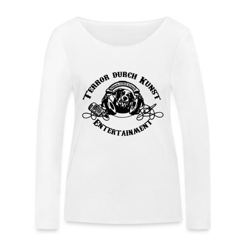 tdklogoschwarz 3 - Frauen Bio-Langarmshirt von Stanley & Stella
