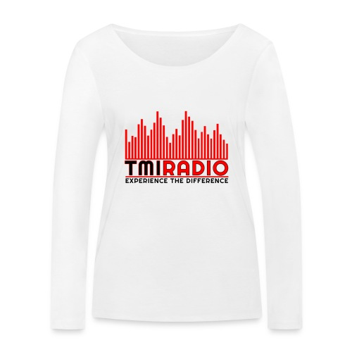 NEW TMI LOGO RED AND BLACK 2000 - Women's Organic Longsleeve Shirt by Stanley & Stella