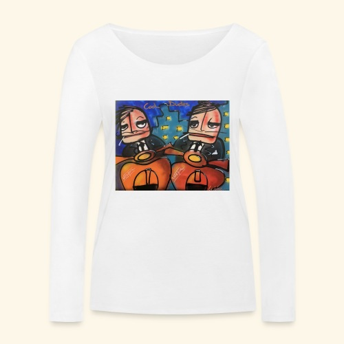 Cool dudes - Vrouwen bio shirt met lange mouwen van Stanley & Stella