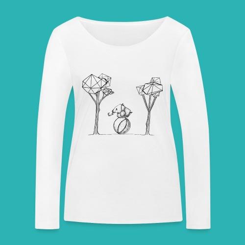 Rotolare_o_capitombolare-01-png - Maglietta a manica lunga ecologica da donna di Stanley & Stella