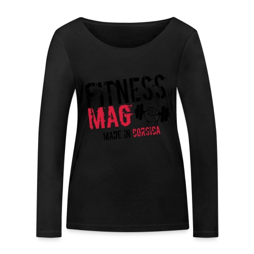 Fitness Mag made in corsica 100% Polyester - T-shirt manches longues bio Stanley & Stella Femme