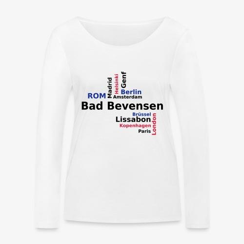 City_Europa_BadBevensen - Frauen Bio-Langarmshirt von Stanley & Stella