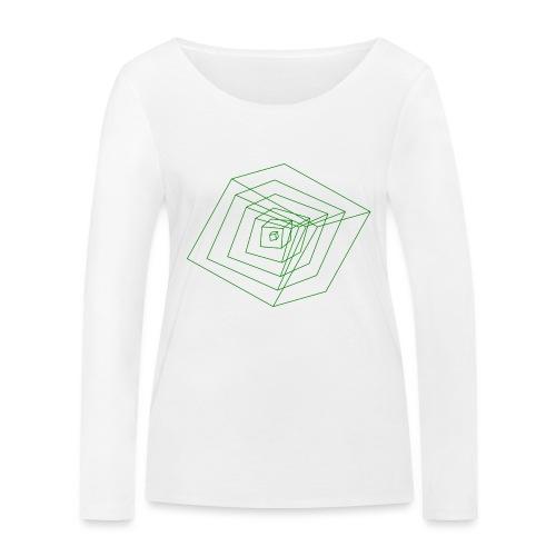 Cubes - T-shirt manches longues bio Stanley & Stella Femme