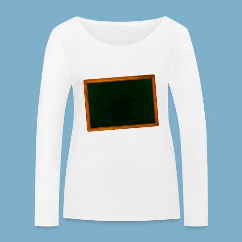 Schul Tafel - Frauen Bio-Langarmshirt von Stanley & Stella