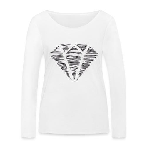 Diamante - Camiseta de manga larga ecológica mujer de Stanley & Stella