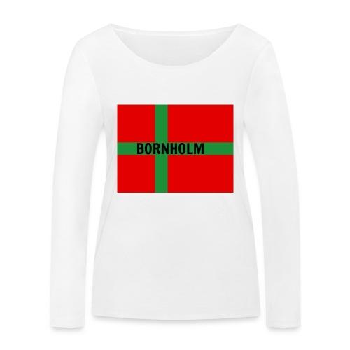 BORNHOLM - Økologisk Stanley & Stella langærmet T-shirt til damer
