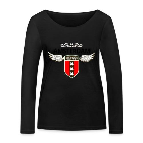 Amsterdam Netherlands - Frauen Bio-Langarmshirt von Stanley & Stella