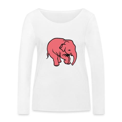 DT olifant - Vrouwen bio shirt met lange mouwen van Stanley & Stella