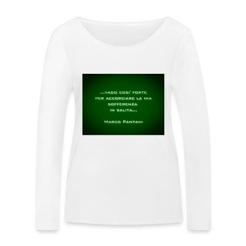 Citazione - Maglietta a manica lunga ecologica da donna di Stanley & Stella