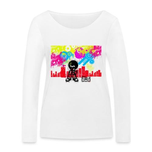 T-Shirt Happiness Uomo 2016 Dancefloor - Maglietta a manica lunga ecologica da donna di Stanley & Stella