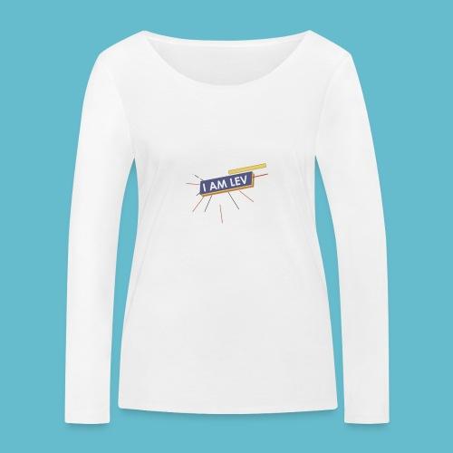 I AM LEV Banner - Vrouwen bio shirt met lange mouwen van Stanley & Stella