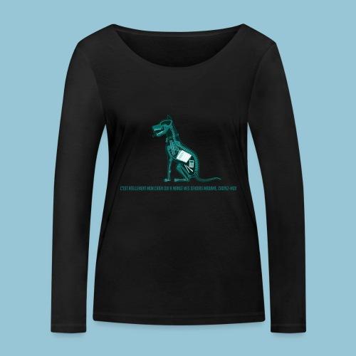 T-shirt femme imprimé Chien au Rayon-X - T-shirt manches longues bio Stanley & Stella Femme