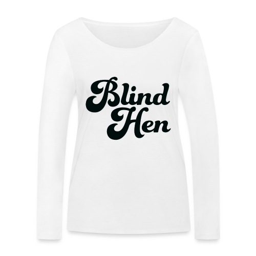 Blind Hen - Logo Lady fit premium, blue - Women's Organic Longsleeve Shirt by Stanley & Stella