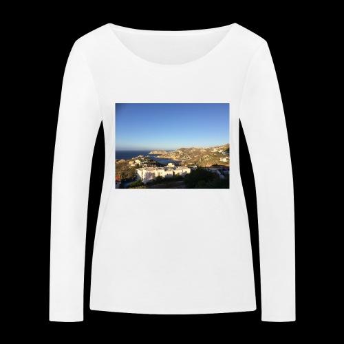 creece - Vrouwen bio shirt met lange mouwen van Stanley & Stella