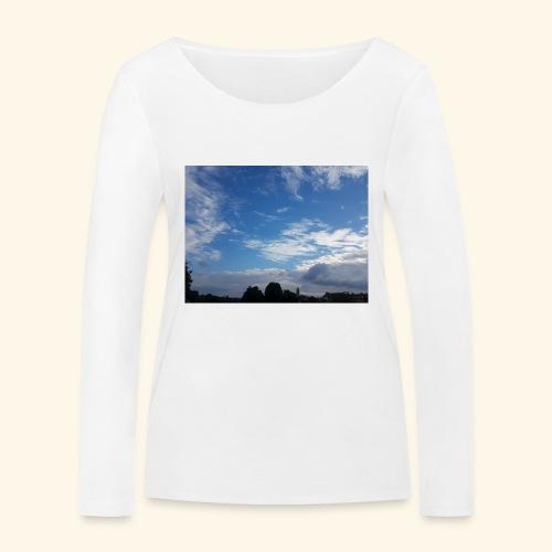 himmlisches Wolkenbild - Frauen Bio-Langarmshirt von Stanley & Stella