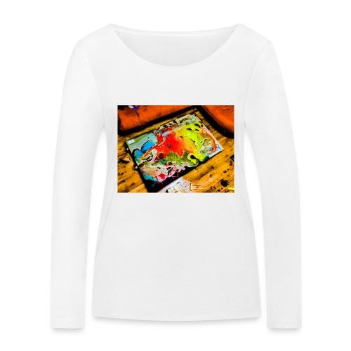 Love hope peace - Ekologiczna koszulka damska z długim rękawem Stanley & Stella
