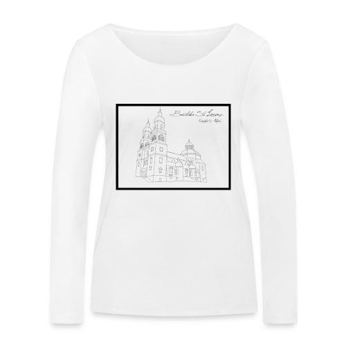 T Shirt Basilika St Lorenz Kempten Allgaeu - Frauen Bio-Langarmshirt von Stanley & Stella