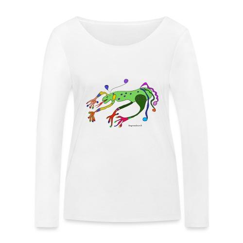 Kenzi der lustige Drachen - Frauen Bio-Langarmshirt von Stanley & Stella