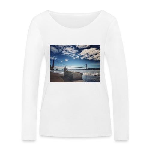 poncio - Camiseta de manga larga ecológica mujer de Stanley & Stella