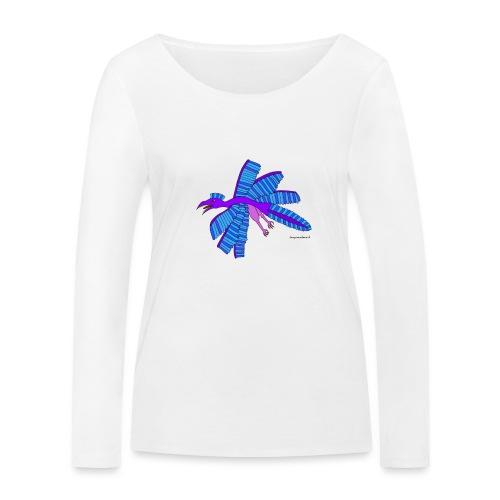 Mimosa das fliegende Urtier - Frauen Bio-Langarmshirt von Stanley & Stella