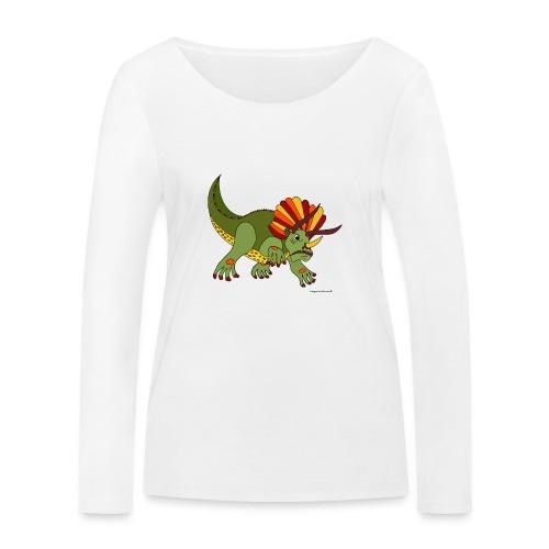 Rhino das wütende Urtier - Frauen Bio-Langarmshirt von Stanley & Stella