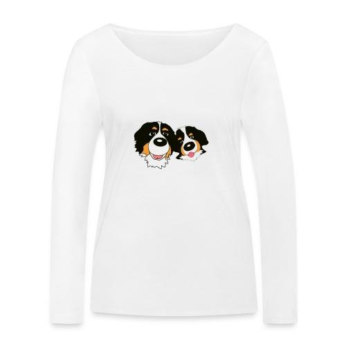 hane och hona - Ekologisk långärmad T-shirt dam från Stanley & Stella