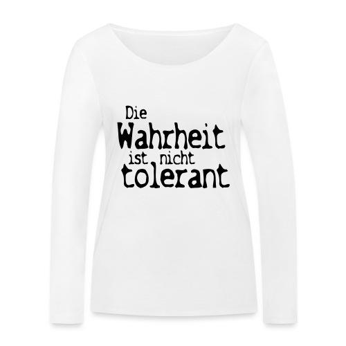 tolerant (JESUS-shirts) - Frauen Bio-Langarmshirt von Stanley & Stella