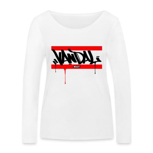 #EASY Graffiti Vandal T-Shirt - Maglietta a manica lunga ecologica da donna di Stanley & Stella
