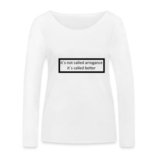 K.E.C original t-shirt - Økologisk Stanley & Stella langærmet T-shirt til damer