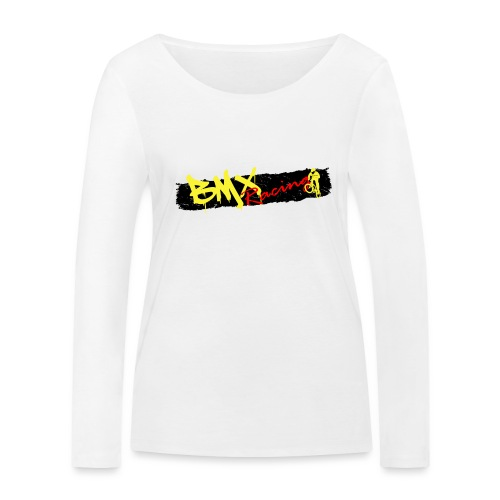 BMX Racing Tee - Women's Organic Longsleeve Shirt by Stanley & Stella