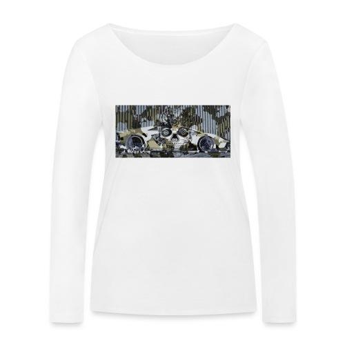 calavera style - Women's Organic Longsleeve Shirt by Stanley & Stella