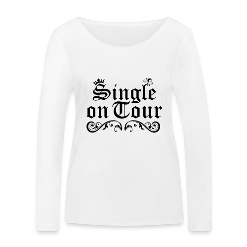 Single on Tour - Frauen Bio-Langarmshirt von Stanley & Stella