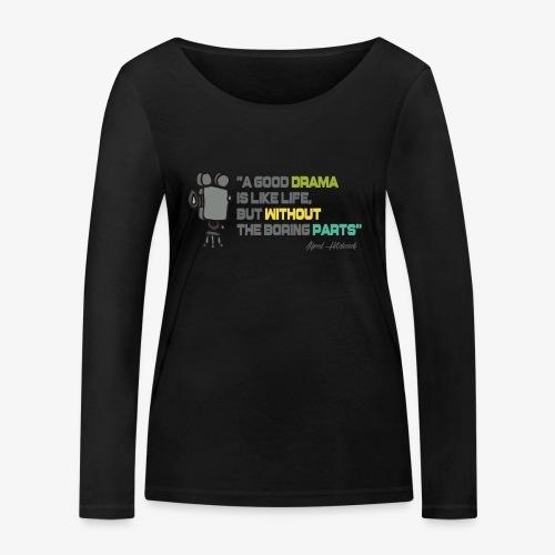 Pasión por el cine - Camiseta de manga larga ecológica mujer de Stanley & Stella