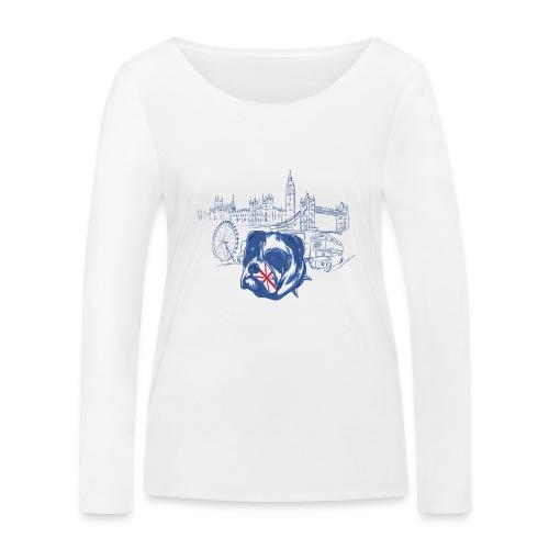 London - Ekologisk långärmad T-shirt dam från Stanley & Stella