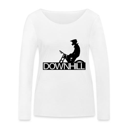 Downhill Biker - Frauen Bio-Langarmshirt von Stanley & Stella