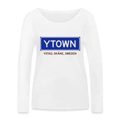 Ystad, Badly Translated - Ekologisk långärmad T-shirt dam från Stanley & Stella