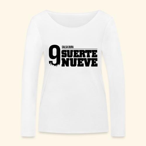 Logo Suerte - T-shirt manches longues bio Stanley & Stella Femme